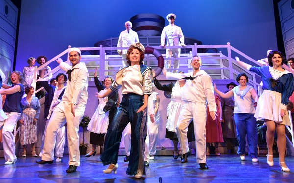 Photo of Ware Operatic's production of Anything Goes