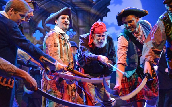 Photo of Ware Operatic's production of Pirates of Penzance